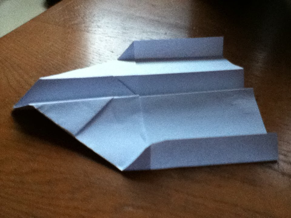 how to make a paper plane glider easy