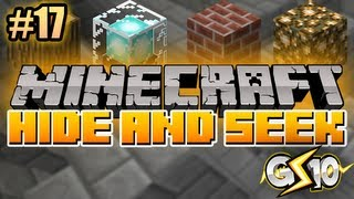 Minecraft: Hide and Seek Mini-Game w/ Graser & Friends! (Episode 17)