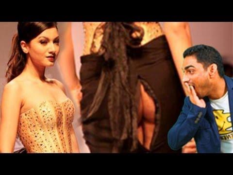 Gauhar Khan's SHOCKING Wardrobe Malfunction - The Dirty Picture