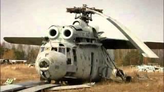 Vehículos abandonados en Chernobyl