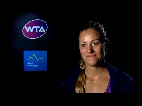 Angelique Kerber 2014 Apia International Sydney SF Interview
