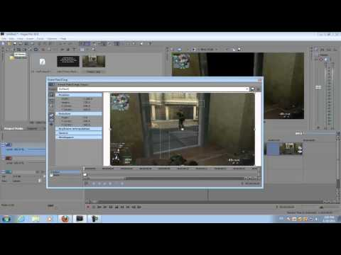 Sony Vegas Pro 10: Picture in Picture Transition Effect (Call of Duty Montage Effect)