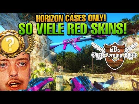 CS:GO CASE OPENING BATTLE #18 - KRANKE SKINS! Horizon Cases only!