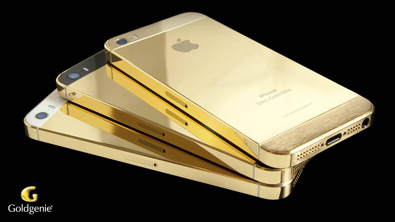 gold iphone 5s video goldgenie youtube. Black Bedroom Furniture Sets. Home Design Ideas