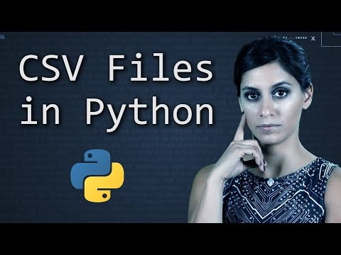 CSV Files in Python - Learn Python Programming  (Computer Science)