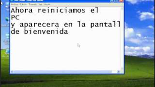 Mostrar La Cuenta Administrador Windows XP