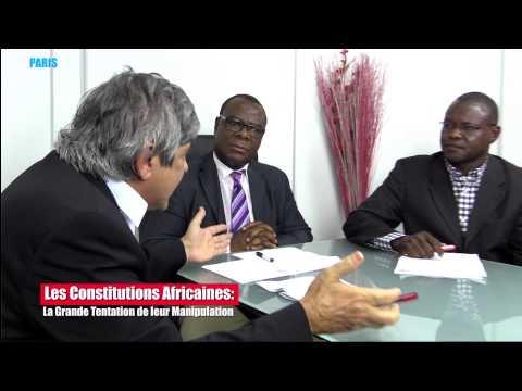 DÉBAT SUR LES CONSTITUTIONS : ALBERT BOURGI FACE A JOACHIM VOKOUMA