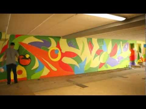 Dulux - Zagraliśmy kolorem w Gdańsku - Time lapse