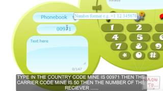 How To Send SMS From Internet To Mobile Phones For Free