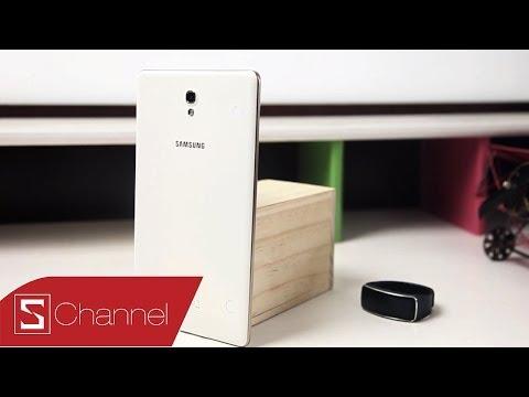 Mở hộp Galaxy Tab S 8.4 bản thương mại