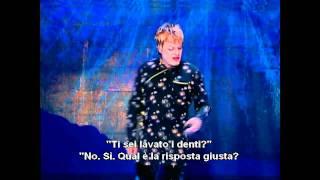 Eddie Izzard Sub Ita Italiani, Americani, Inglesi E