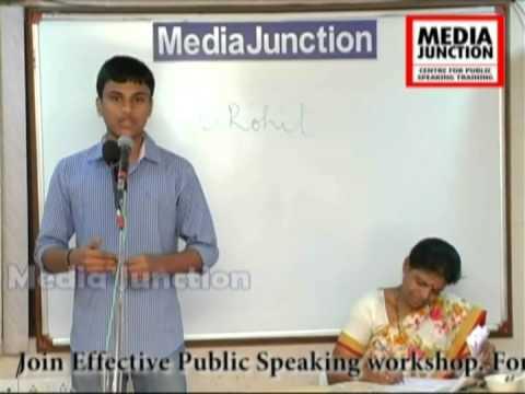 B. Rohit, Workshop Participant,Media Junction,Hyderabad.