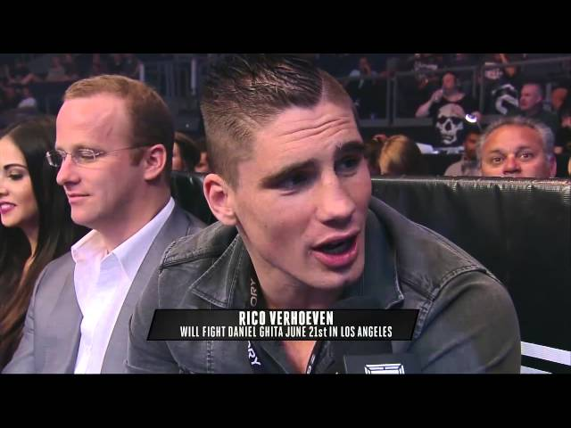 Rico Verhoeven Confirms Title Fight vs. Daniel Ghita June 21st
