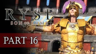 Ryse Son Of Rome Walkthrough Part 16 BOSS Commodus (XBOX