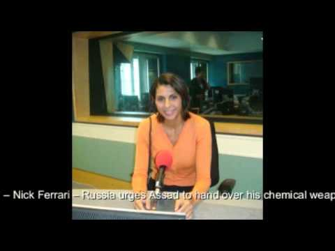 Nabila Ramdani - LBC - Russia urges Assad to hand over his chemical weapons - 10 September 2013