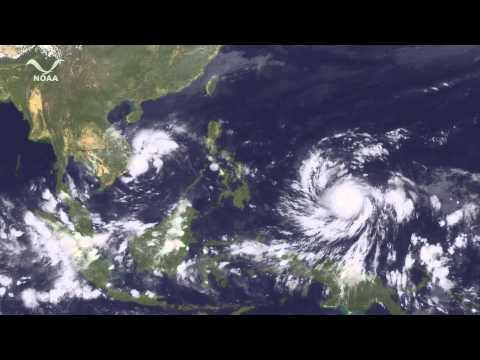Super Typhoon Haiyan Impacts the Philippines
