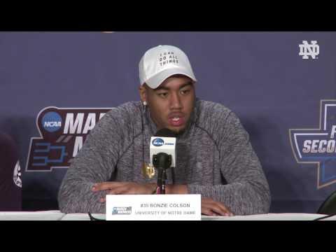 Notre Dame Men's Basketball Player Press Conference - Pregame West Virginia