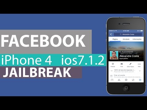 Como instalar o facebook no iPhone 4 iOS 7.1.2