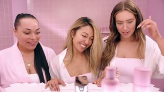 Heather, Tiffany and Stassie try out Kylie Skin