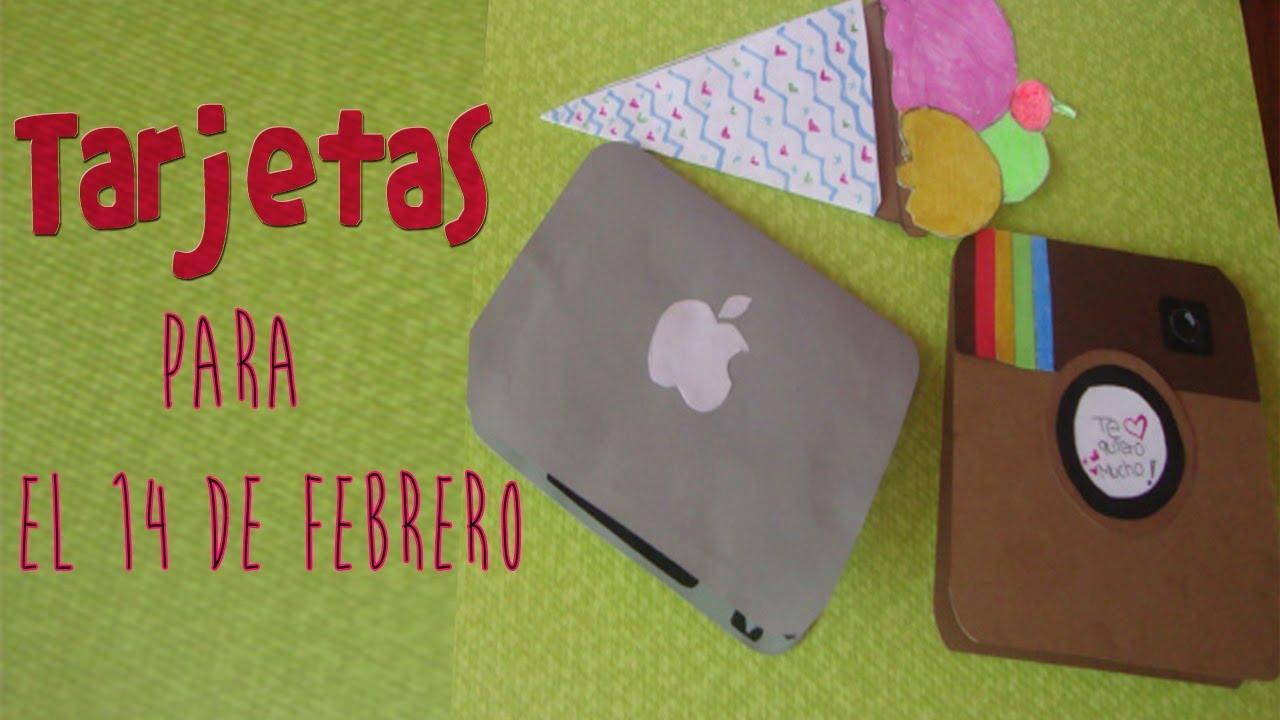 Tarjetas para el 14 de febrero tarjetas originales para for Cosas originales para regalar