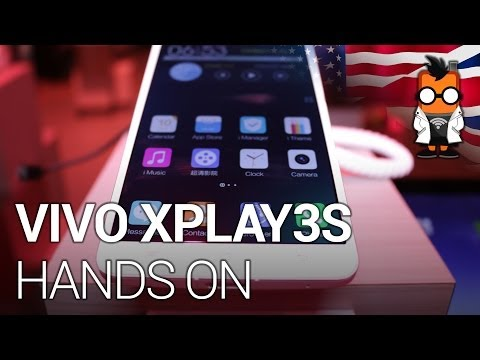Vivo Xplay 3S 6inch 2K smartphone with quadcore hands on at CES 2014 [ENG]