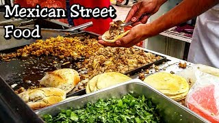 REAL Mexican Street Tacos - Street Food That Will Blow Your Mind!! - Best Mexican Street Food