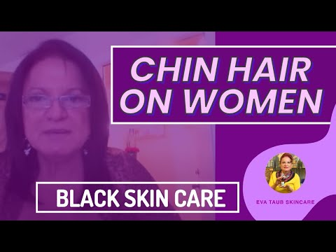 Black Skin Care: Treating Chin Hair in Black Women - YouTube