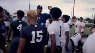 """Part 3 Huddle Up With Cam Newton """"You Can't Do It Alone"""