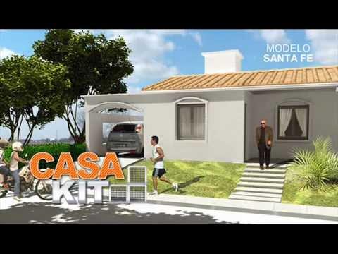 Casa kit modelos 2 y 3 dormitorios youtube for Modelo de casa procrear lujan 3 dormitorios
