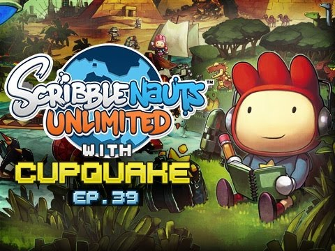 """STUCK IN A TREE"" Scribblenauts Unlimited Ep 39"