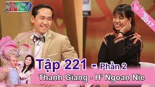 Hồng Vân 'trố mắt' nghe tục 'bắt chồng' của cô dâu Ê Đê | Thanh Giang - H' Ngoan Nie | VCS #221 😵