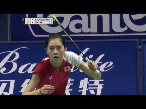 China Masters 2017 | Badminton F M1-WS | Saena Kawakami vs Aya Ohori