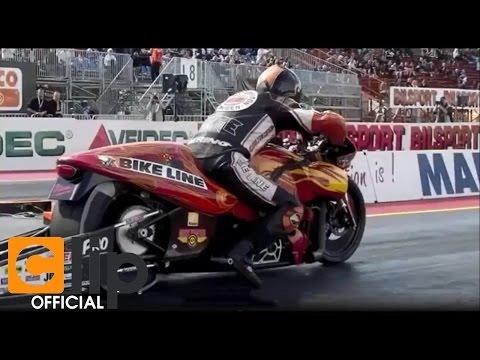 Cuộc đua của những chiếc mô tô khủng nhất thế giới