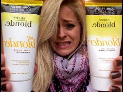 Product Rant John Frieda Go Blonder Youtube