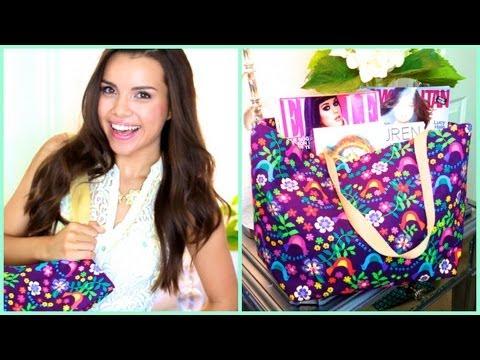 GIY Tote Bag ♥ No Sewing Necessary!