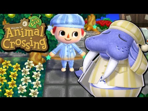Animal Crossing: New Leaf - Ninty's Dream Land (Nintendo 3DS Gameplay Walkthrough Ep.36), Today we dress for luck, meet up with a new bird buddy, gain another badge, complete an aquatic outfit, try to get a bargain on poultry, dream of a land far ...