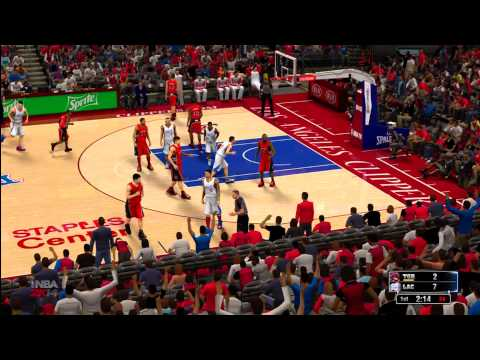 NBA 2K14: LA Clippers vs. Toronto Raptors HD Gameplay ft. Blake Griffin, CP3, and Rudy Gay
