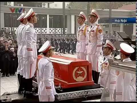 Quốc tang: Lễ truy điệu Đại tướng Võ Nguyên Giáp 13/10/2013