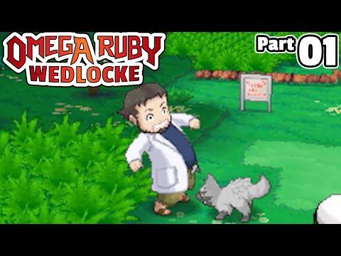 Pokémon Omega Ruby Wedlocke, Part 01: I'm Hungry!