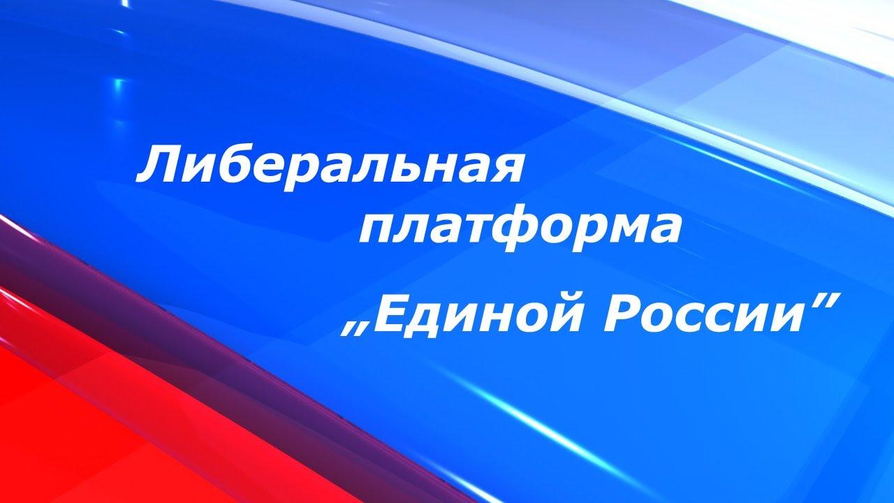 """Заседание Либеральной платформы партии """"Единая Россия""""."""