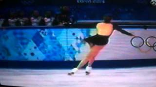 Carolina Kostner Skates Ladies Free Skate At Olympic Games