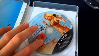 Déballage Et Démarrage De GTA V Sur PS3