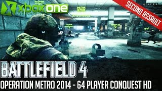 Battlefield 4 BF4 Operation Metro 2014 Xbox One 64