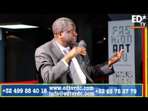 Dr. MUKWEGE NE CROIT PAS AUX ELECTIONS 2016 ET PRÔNE UNE RÉVOLUTION MORALE