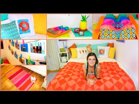 Diy summer room makeover decorations more youtube for Room decor youtube channel
