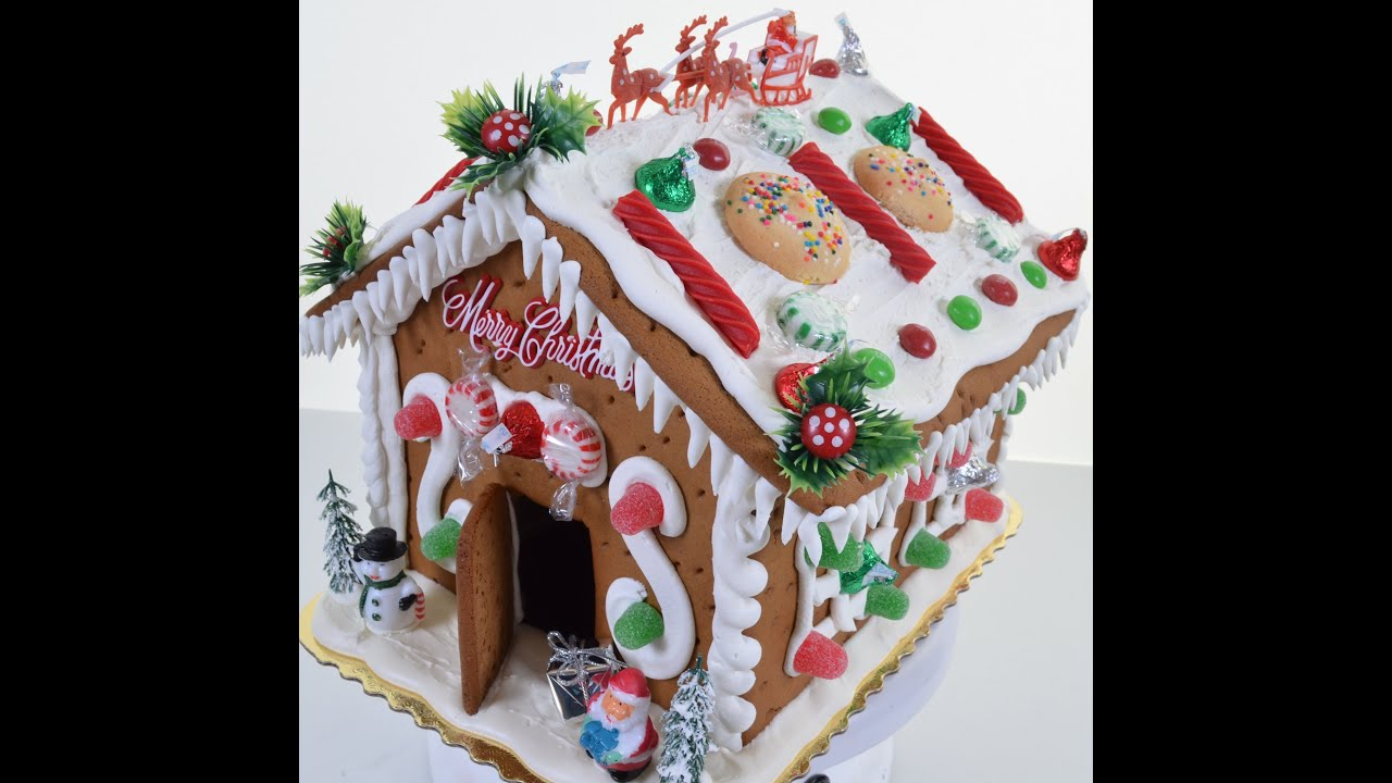 How To Make Gingerbread House Creating Gingerbread With