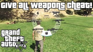 GTA 5: Give All Weapons Cheat XBOX 360 & PS3!