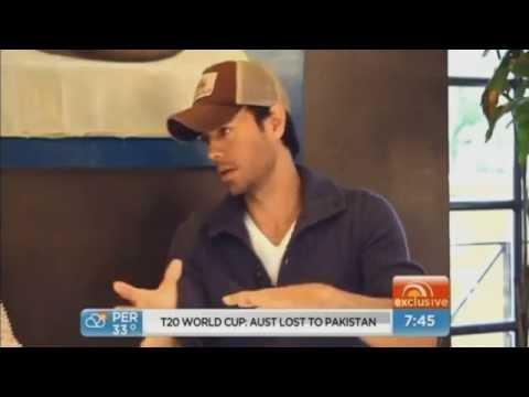 Enrique talks about sex and love