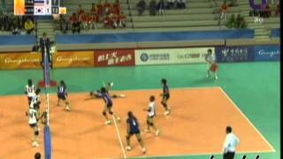 2010 Asian Games Women's Volleyball / Thailand Vs South