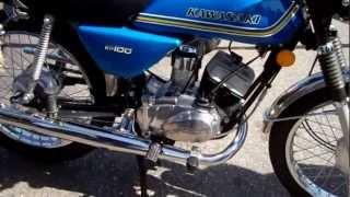 My Show Winning 1976 Kawasaki KH100 100% ORIGINAL
